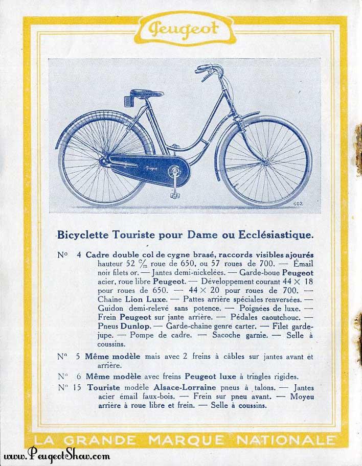 Col de cygne Peugeot année inconnue autogène 1926b_06