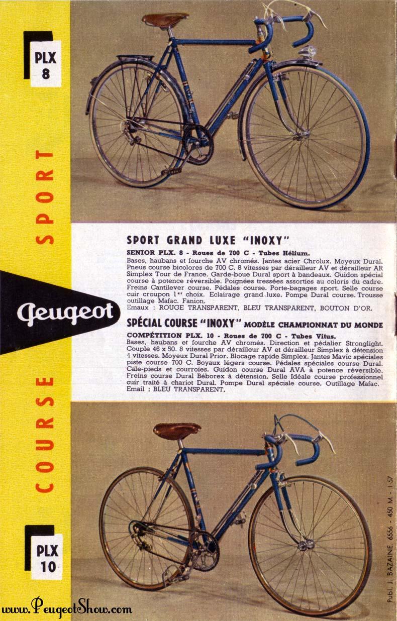Peugeot LX 10 1958 tubes Reynolds  - Page 3 1957_8