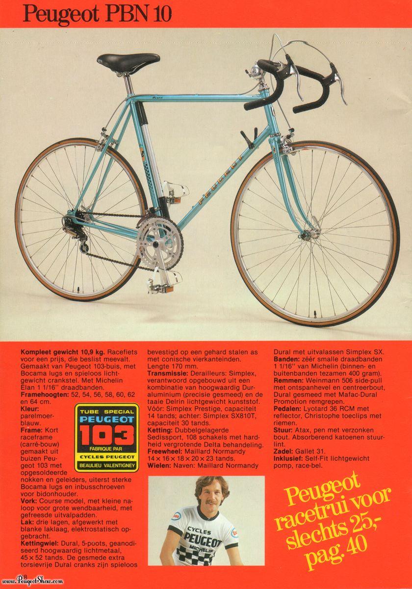 Peugeot 103 édition record du monde pour restauration  1980nl_28