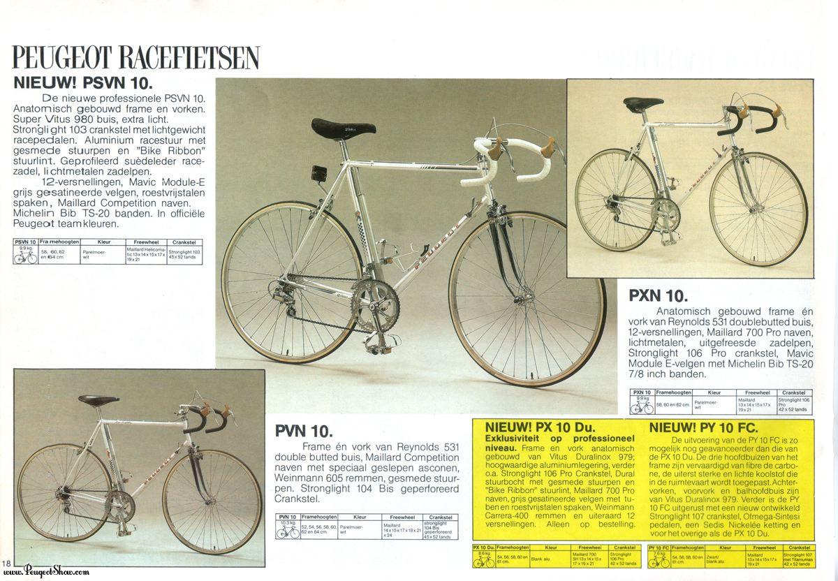 cadre course PEUGEOT  PH 10 LS  : remontage d'époque ! 1986  - Page 2 1983nl_18