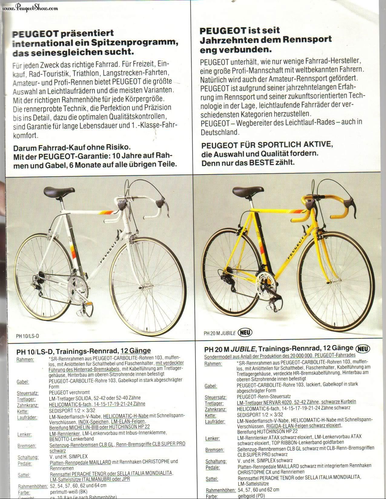 cadre course PEUGEOT  PH 10 LS  : remontage d'époque ! 1986  - Page 5 1986de_03