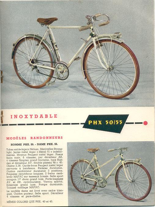 Peugeot PHX 50 année 1954 - Page 2 1953_09