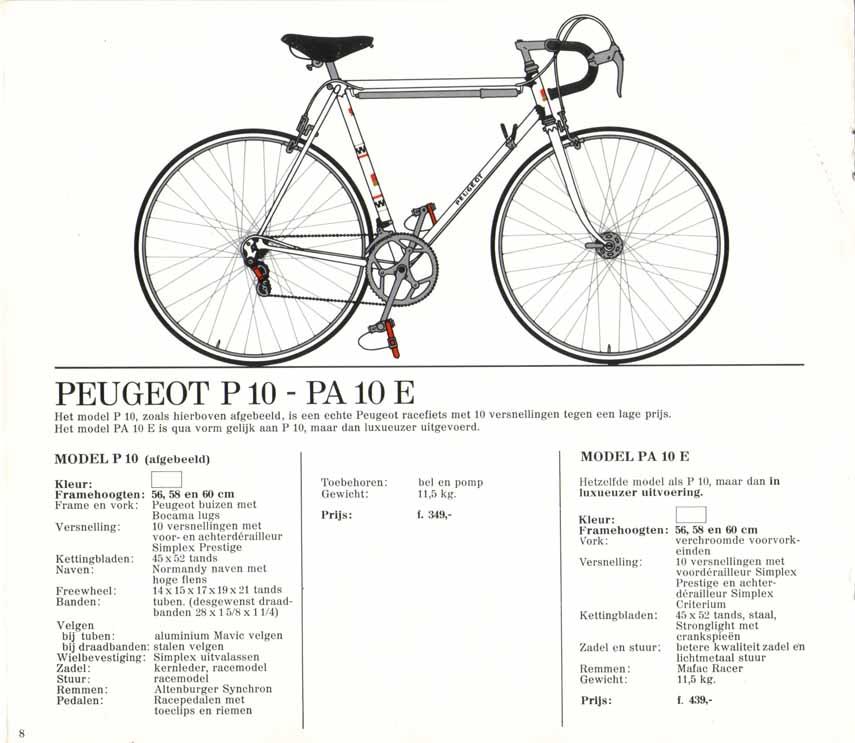 Peugeot PA10 début 70 1973_2